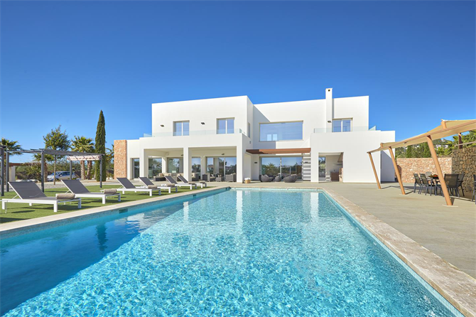 Luxury villa in Ibiza