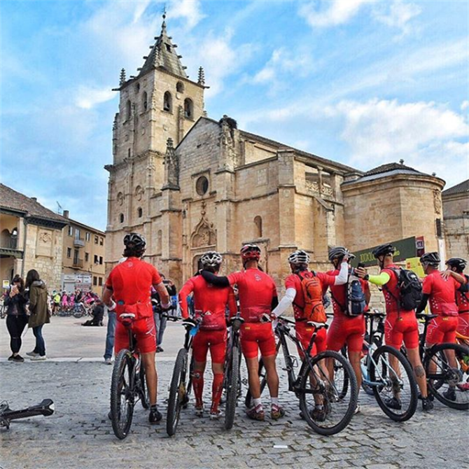 CiclaMadrid - Cyclists in Torrelaguna
