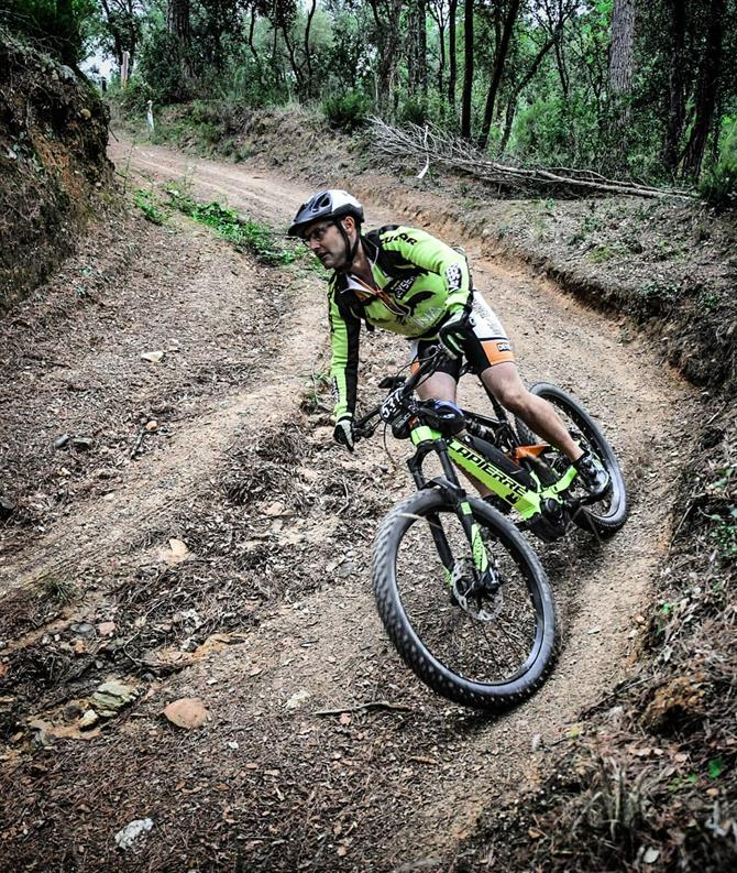 Mountainbike i Parque Natural de Montseny