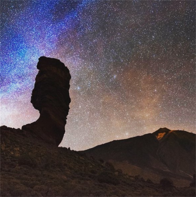 Stargazing at El Teide National Park