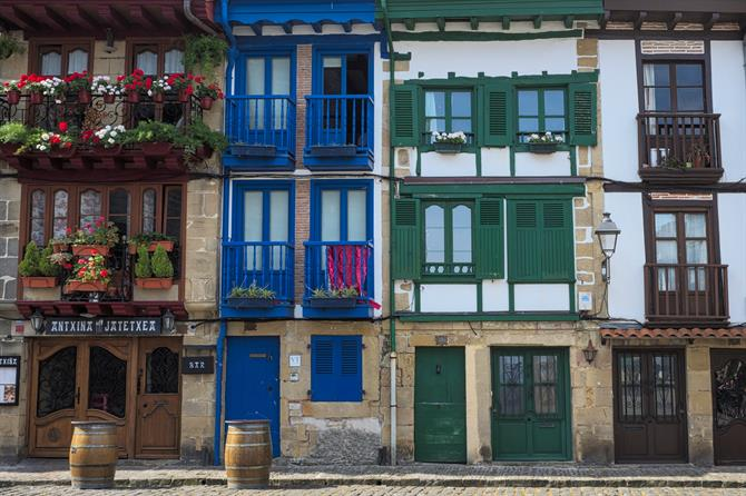 Basque-style houses, the Basque Country