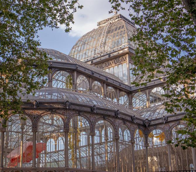 The Crystal Palace in Retiro Park, Madrid