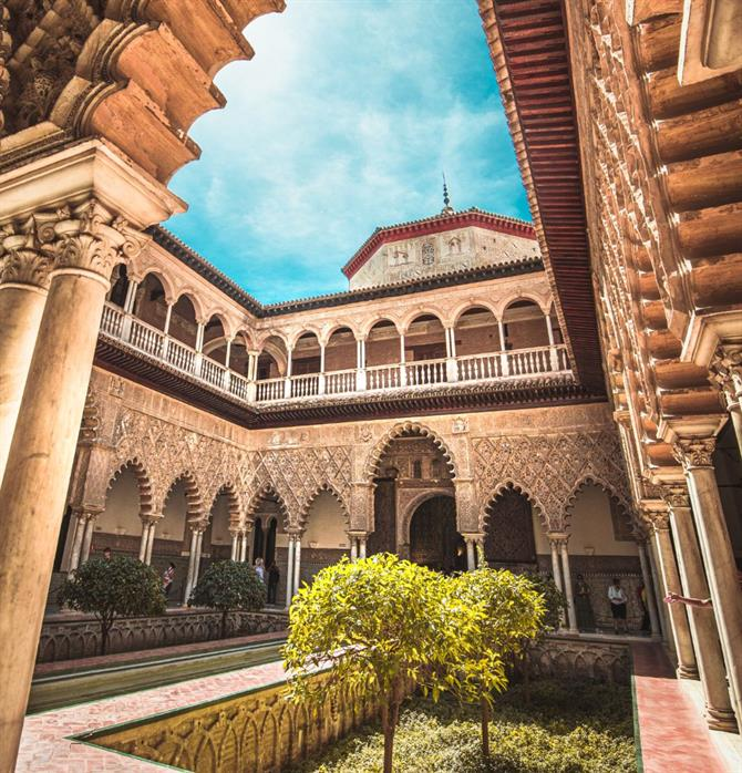 The Cathedral and Alcazar, Sevilla