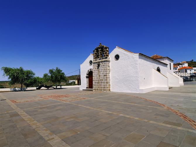 La Gomera - Chipude church
