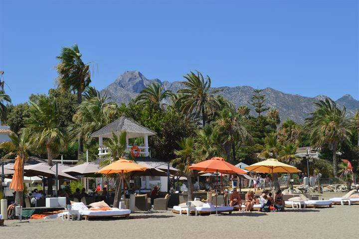 Beste beach clubs van Marbella: Suite del Mar