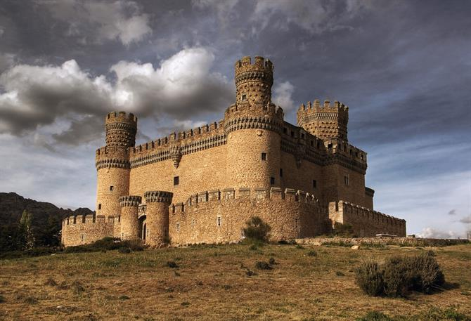 Castillo Manzanares el Real - Madrid