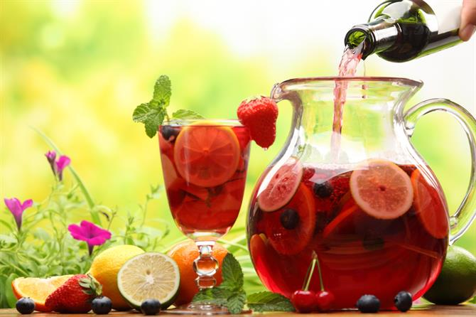 Sangria homemade recipe