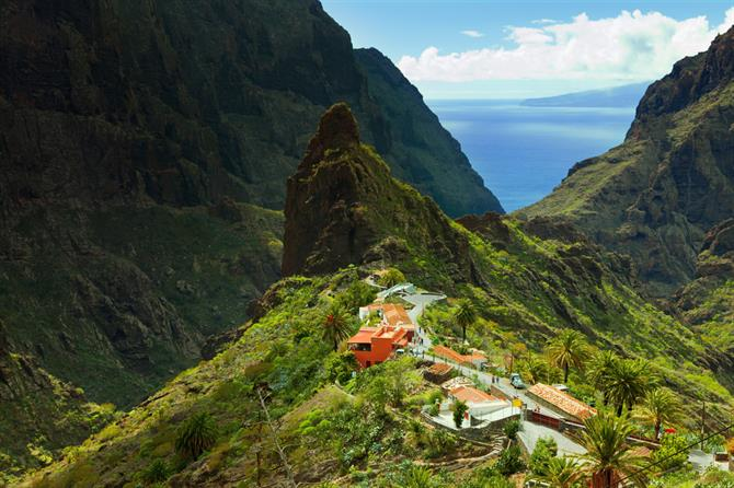 Masca valley, Tenerife, Canary islands