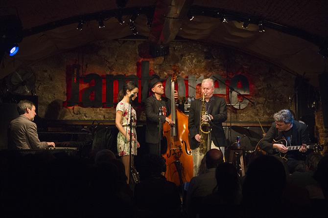 Jazz concert at Jamboree, Barcelona