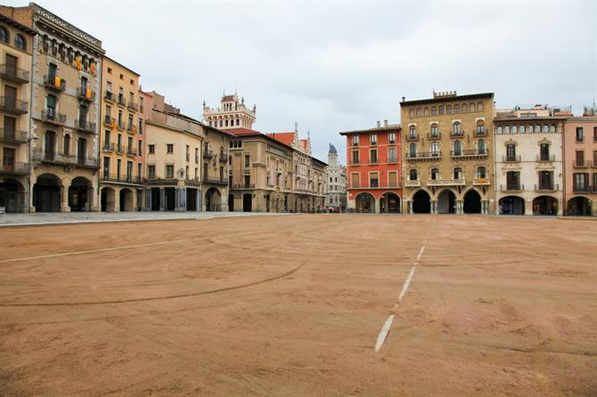 Plaza Mayor, Vic, Catalonia