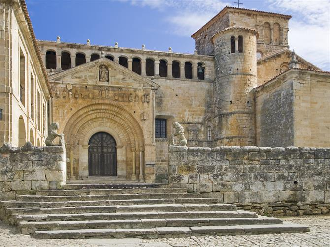 Santillana del Mar in Kantabrien