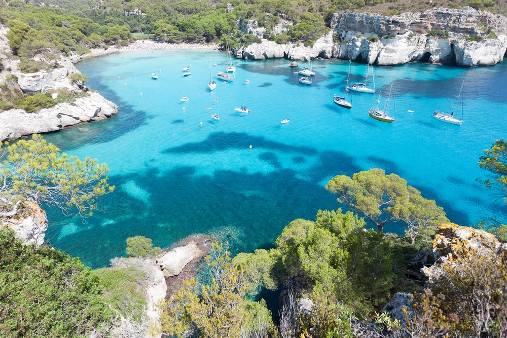 Assez Menorca's most beautiful beaches QF53