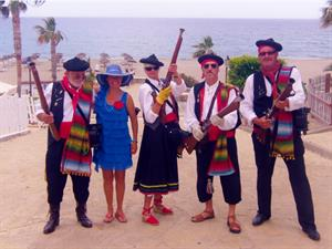 Moors and Christians Festival in Mojacar
