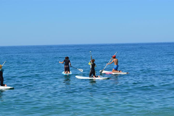 Paddle surfing lungo la Costa Tropical