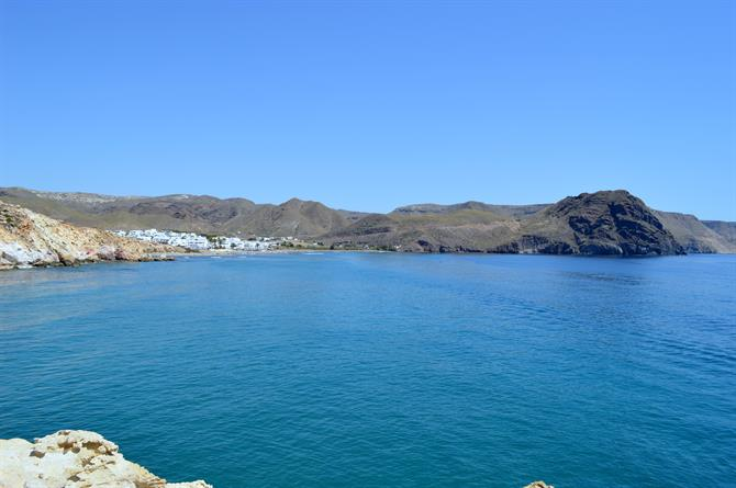 View of Las Negras, Cabo de Gata