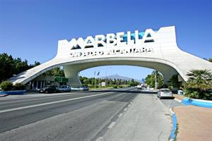 Marbella is popular with both Spanish and Northern European holidaymakers