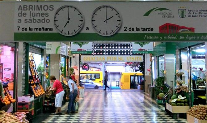 Mercado Central opening hours