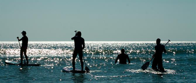 Stand Up Paddle (SUP) en Espagne
