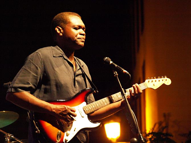 Robert Cray at Santa Blues, Santa Cruz, Tenerife