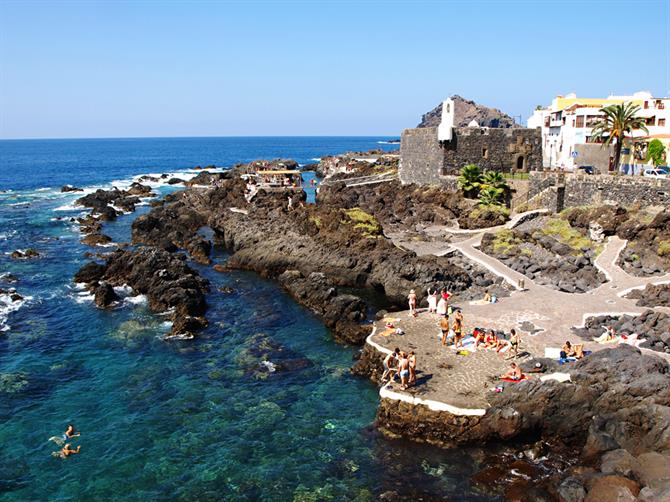 Rock pools, Garachico, Tenerife