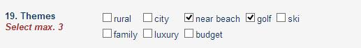 New theme options in edit property