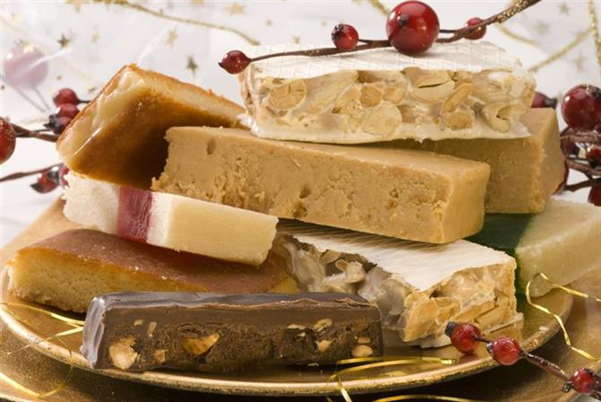 Turron Christmas welcome pack holiday home