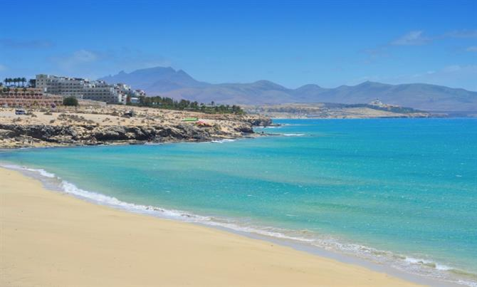 Best beaches Fuerteventura - Esmeralda beach