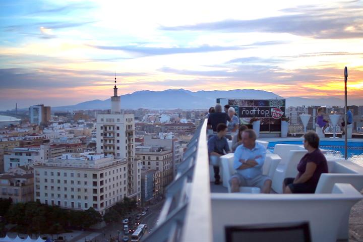 Malaga's best rooftop terraces