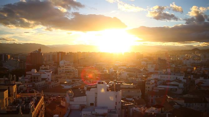 Sunset Malaga rooftop terraces