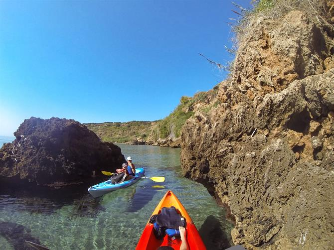 Kayaking Burriana beach to Maro