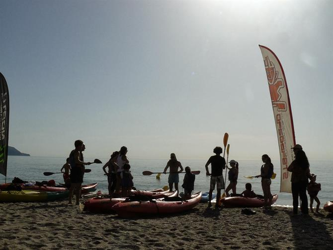Kayaking Nerja to Maro