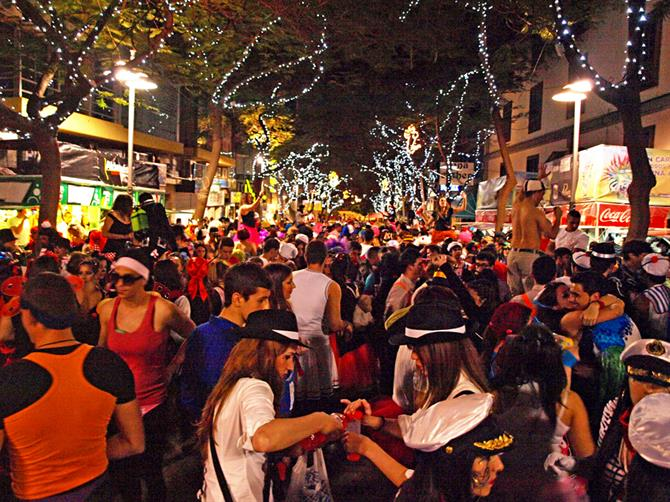 Street Party, Santa Cruz Carnival, Tenerife