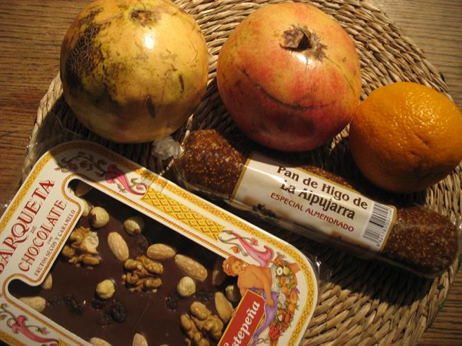 Figs, pomegranates and chocolate - sweet things from Andalusia