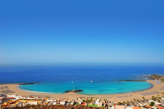 Playa de las Vistas, Tenerife accessible beach
