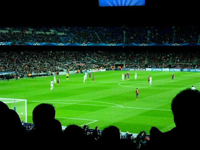 Camp Nou - Champions League