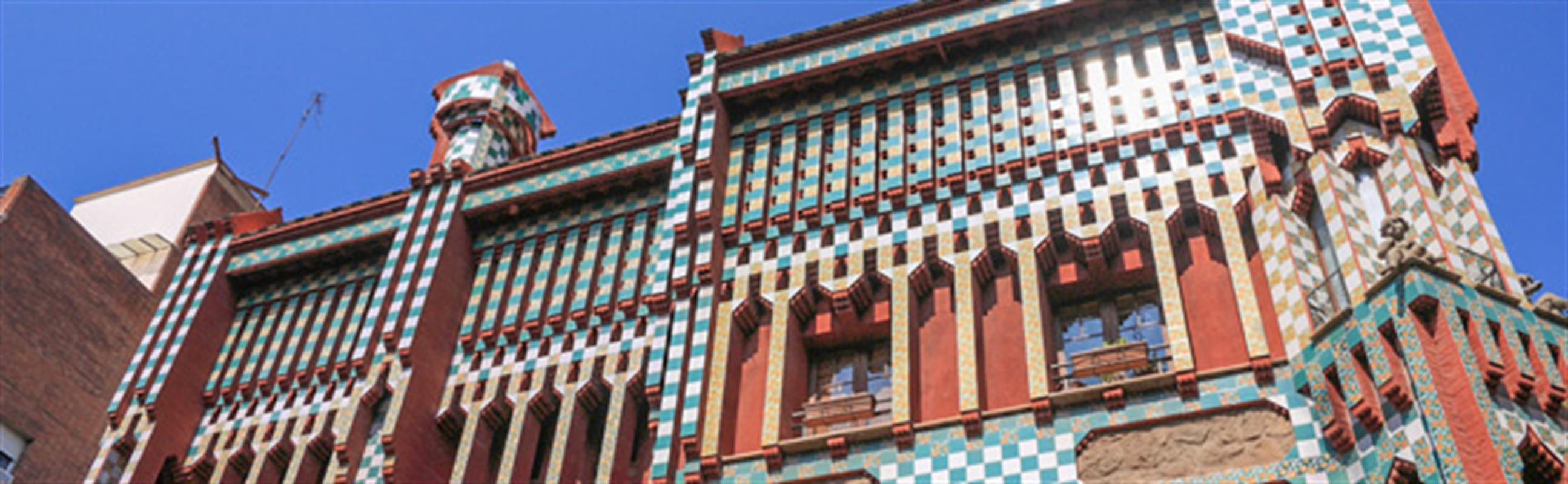 Casa vicens another gaud building will open in barcelona - Casa vives gaudi ...