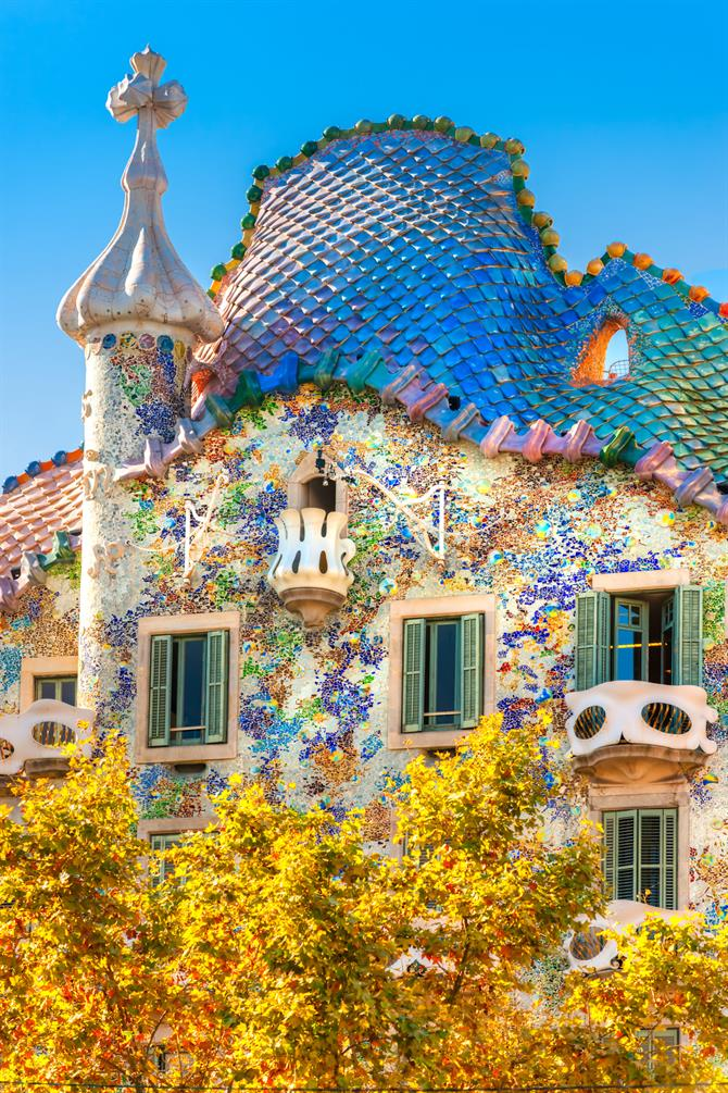 Casa Battló, Barcelona - Catalonia (Spain)