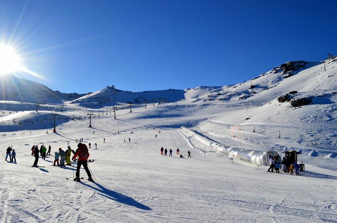 Sierra Nevada skiresort, Granada