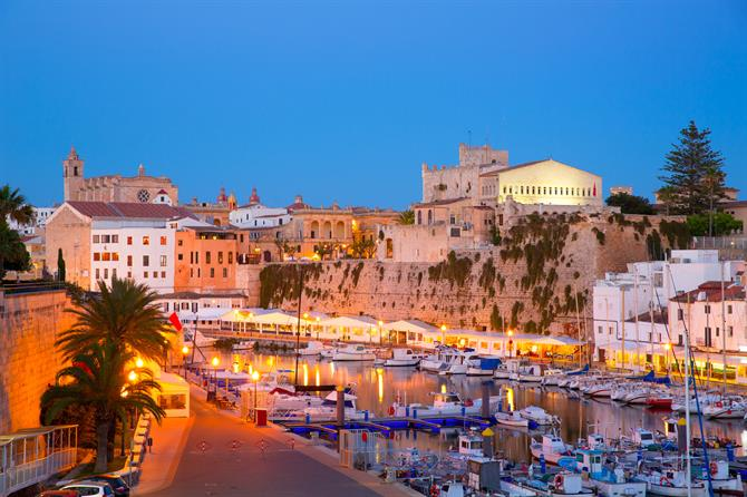 Ciutadella, Menorca, the harbour