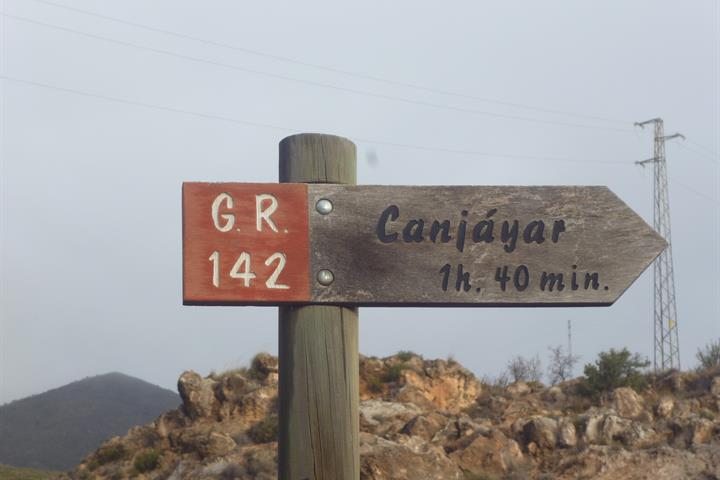 A walk along the GR142 in Andalucía