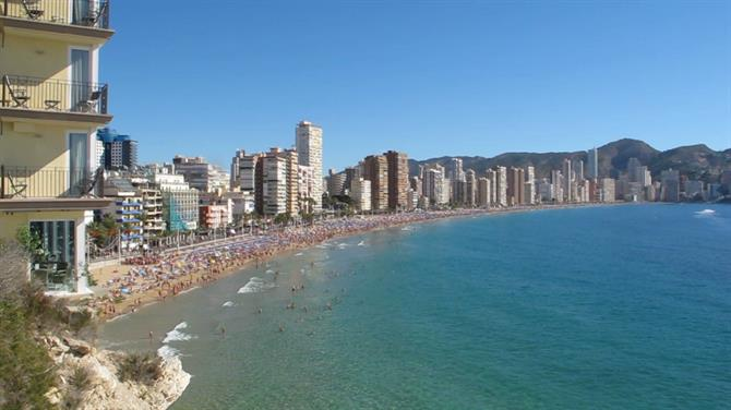 Benidorm beach, Alicante