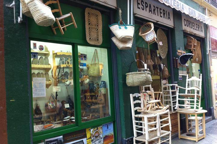 The oldest & most typical shops in Granada