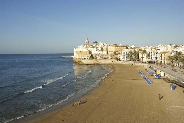 Life's a beach in Sitges!