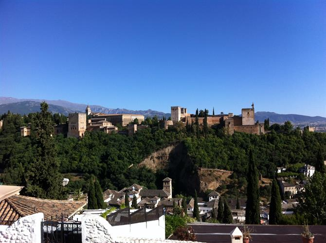 The Alhambra palace Granada Spain