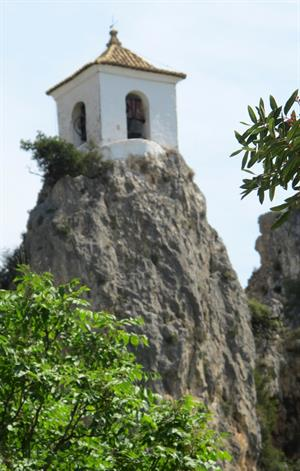 Stunning Guadalest, home to some strange museums