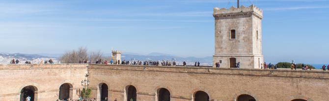 Montjuic Castle Roof