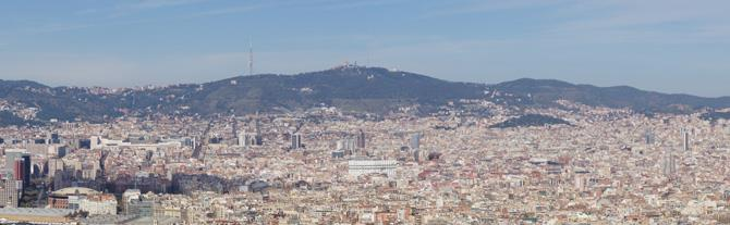 View from Montjuic Castle