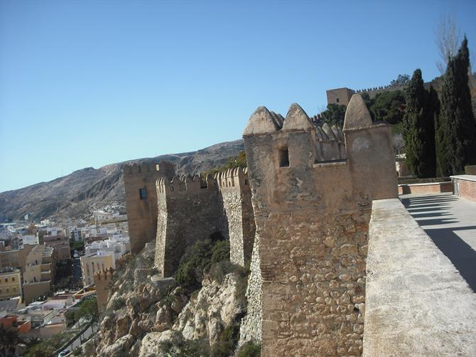 Alcazaba - Moorsih castle of 10th century