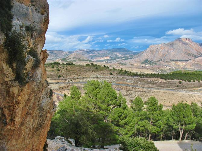 Sierra Maria - frontier between Andalusia and Murcia