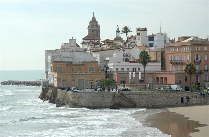 Sitges - the old town